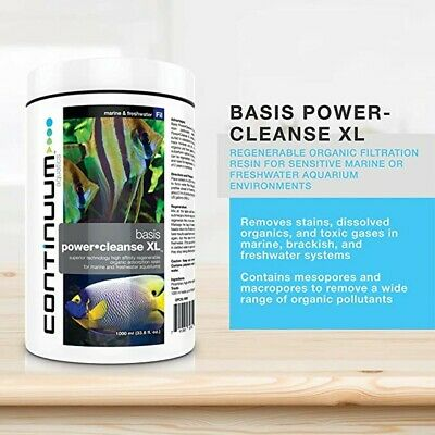 CONTINUUM POWER CLEANSE XL(Regenerable filter resin)Last for 2 years