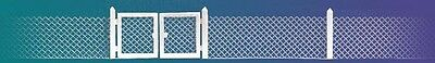 Busch 6019 Mesh Wire Fence with Gates & Poles - HO/00 Scale New - 1st Class Post