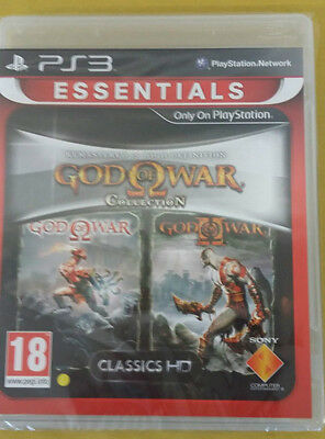 God of War Collection (1+2) PS3 - NUOVO SIGILLATO IMPORT