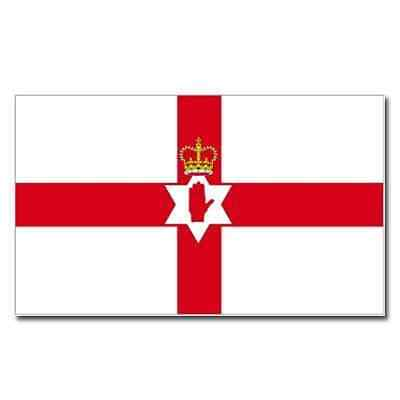 NEW Northern Ireland Red Hand of Ulster Flag 5x3