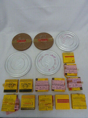 Lot Of 17 Home Movies 8Mm,300,500,from 1950's-60's