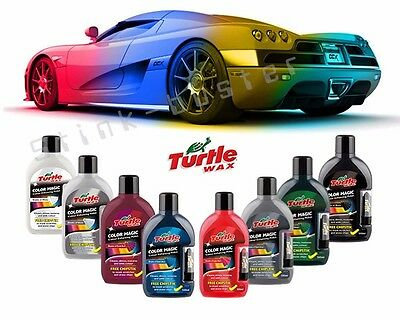 TURTLE WAX Color Magic PLUS Enhancing Polish Restores Scratches Chipstick 500ml