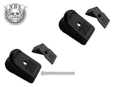 Pearce PG-42+1 Plus One Mag Magazine Extension for Glock 42 P42 .380 2 Pack Set