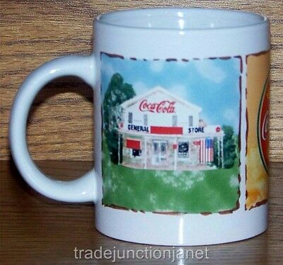 Nos 2003 Ice Cold Coca-Cola Sold Here Coffee Mug - General Store, Delivery Truck