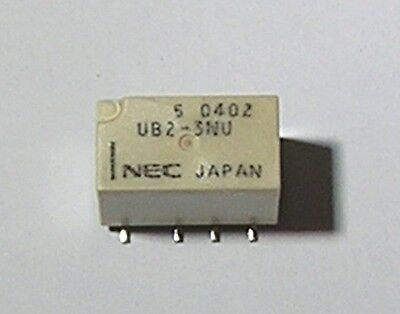 NEC - Low Signal Relay - PCB DPDT 3V Non-Latching (UB2-3NU) -New