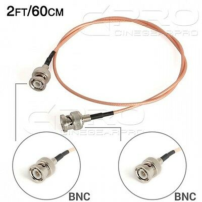 CGPro Ultra Thin BNC to BNC HD-SDI 3G-SDI Cable(2FT/60CM) UK!