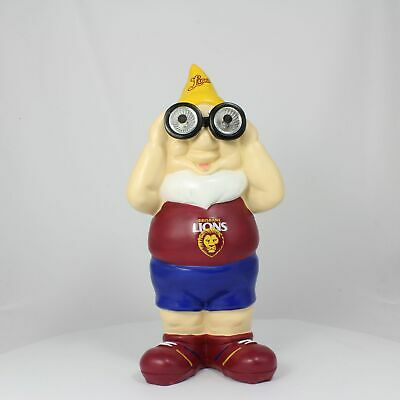 Brisbane Lions AFL Solar Powered Binocular Design Gnome