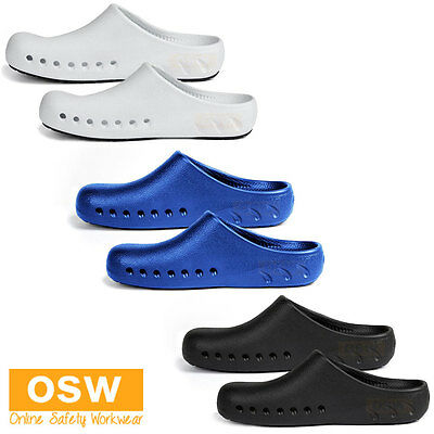 Soft Breathable Sandals Non-Slip Hospitality Chef Kitchen Home Clogs Shoes
