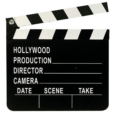 Hollywood Oscars Movie Party Prop Directors Clapboard FREE P&P