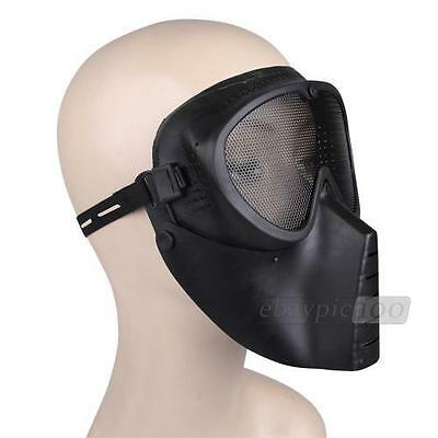 Airsoft Paintball Full Face Protection Skull Mask Outdoor Tactical Gear Goggle