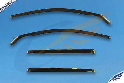 VW PASSAT B5 Estate 5-doors 1997-2004 4-pc wind deflectors HEKO Tinted