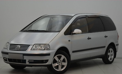 VW SHARAN 1995-2010 4-pc wind deflectors HEKO Tinted