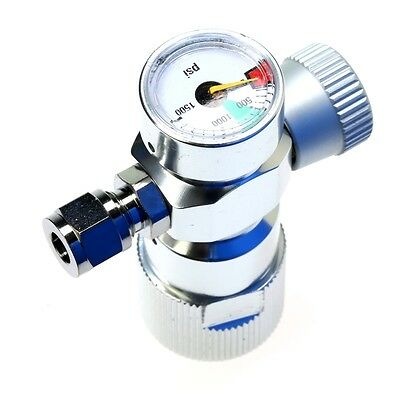 Co2 Regulator -Aquatium Planted Adjustable for Co2 Tank & Co2 Cartridge Tank