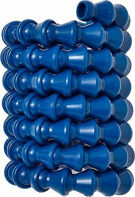 "(1) 5' Long Coil of 1/4"" Blue Loc-Line® USA Original Modular Hose System #49419"