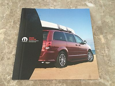 2015 Dodge Grand Caravan Accessories 12-page Original Sales Brochure
