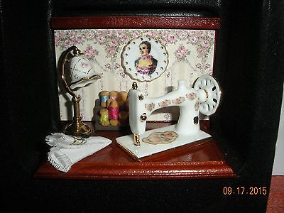 Dollhouse Miniature Inch Scale     Sewing Ensemble