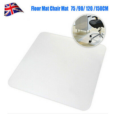 Home Office Chair Mat  PP Hard Floor Protector Protection Mat UK High Quality