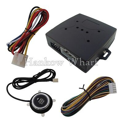 Smart Car Remote Starter Module With Engine Start Stop Push Button