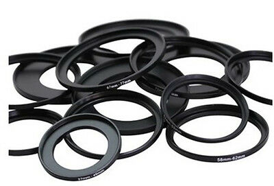 Step-Up Adapter Ring 37mm 39mm 40.5mm 43mm 46mm 49mm 52mm 55mm 58mm 62mm 67mm 77