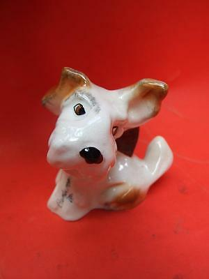 Vintage SYLVAC Scottie Dog Figurine Made in England 50's