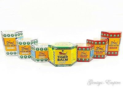 Traditional Original Tiger Balm Muscle Ache Pain Relief Ointment Massage