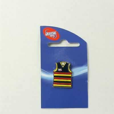 Adelaide Crows AFL Guernsey Collector Lapel Pin Metal Badge