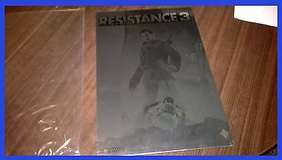 POSTER in allumino A4 Resistance 3 -NO GAME-