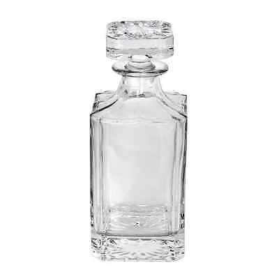 New Clear Glass Whiskey Scotch Liquor Red Wine Decanter Bottle 750MLS
