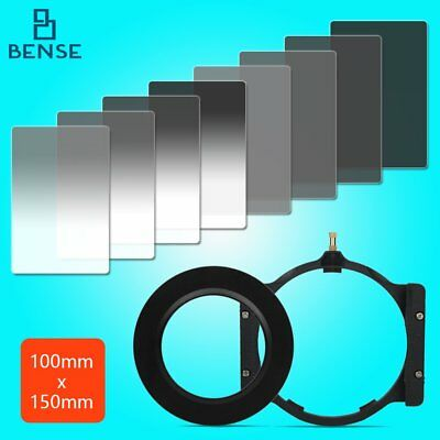 150*100mm Gradient+Complete ND2/4/8/16 Cokin Z Filter kit+Holder+77adapter ring