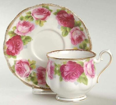 Gorgeous Vintage Royal Albert OLD ENGLISH ROSES Cup and Saucer