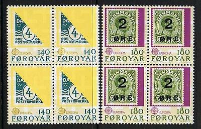 STAMPS Denmark - Faroer 1979 Bl./4 History of the Postal Service (MNH) lot1164b