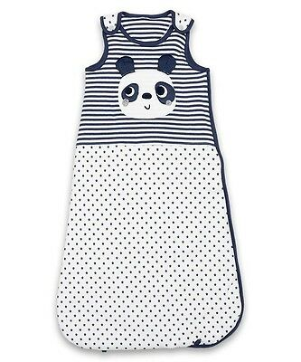 Baby Boys Sleeping Bag  Panda and Stars 1.2 tog 0-6 Months and 6-18 months