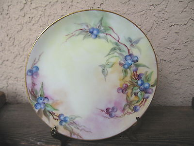 Hand Painted Dishes Israel Blue