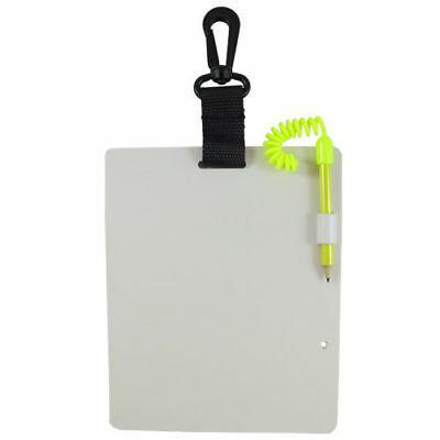 Scuba Diving Writing Dive Slate with Pencil, Large