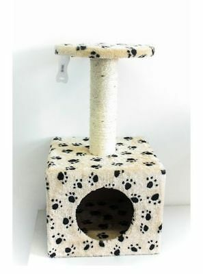 CAT SCRATCHING POST Tree Gym House Condo Furniture Scratcher Toy Kitten Pole New