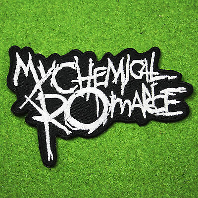 My Chemical Romance Punk Rock Music Band Embroidered Iron On Patch Heavy Metal