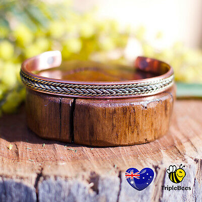 Copper Magnetic Therapy Bracelet. 5 styles to choose from. FREE POSTAGE