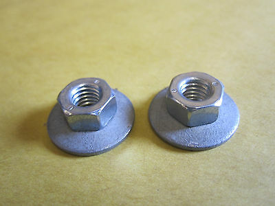 M6 Combi Nuts With Captive Washers - Pack of 10