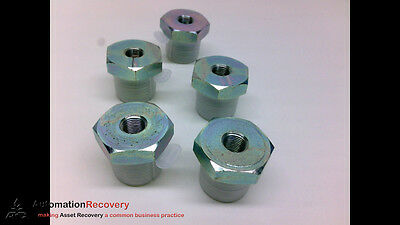 Adaptall 9038-08-02 - Pack Of 5 - Reducer Bushing, 1/2In Bspp Male,, New #203924