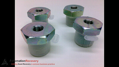 Adaptall 9038-08-02 - Pack Of 4 - Reducer Bushing, 1/2In Bspp Male,, New*