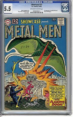 Showcase 37 CGC 5.5 First Metal Men