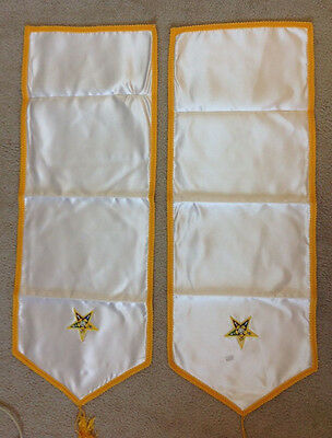 Eastern Star, Pedestal Covers Set