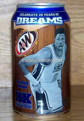 NM 2012 LE USA A&W PATRICK EWING DREAM TEAM OLYMPICS SERIES 12oz 355mL FULL CAN