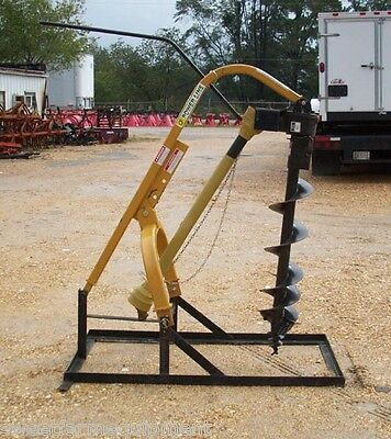 New Powerline 12 Inch Post Hole Digger, 3 Point, LOW COST SHIPPING