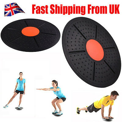 Pro Balance Wobble Board 37cm Rehabilitation Fitness Exercise Training Yoga+ Gym