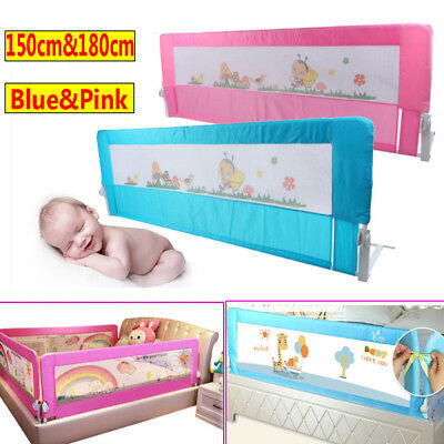 150/180cm Child Toddler Kid Safety Guard Bed Rail Protection Folding Bedrail UK