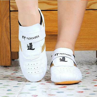 Sale Tai Chi Kung Fu Shoes Taekwondo Sneakers Kickboxing Footwear LS30#