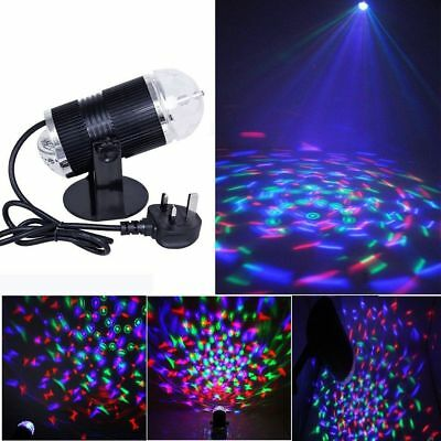 Voice Activate LED Light Laser RGB Stage Effect Lighting Club Disco DJ Party Bar