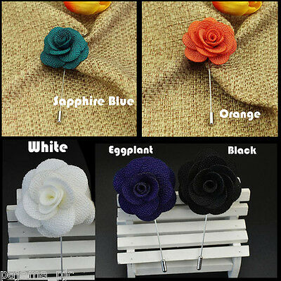 New Men's Suit brooch chest buckle brooch Pin Floral flower lapel pin