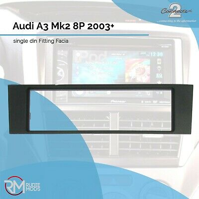 Connects2 CT24AU04 Audi A3 Mk2 8P 2003 on Single Din Car Stereo Facia Panel